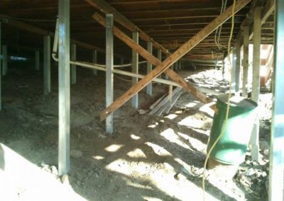 House restumping and leveling