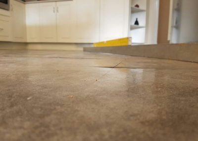 Melbourne floor level correction - after relevelling