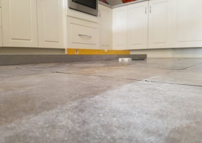 Melbourne floor level correction - after relevelling Kitchen