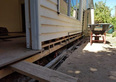 Restumping Melbourne and floor levelling Melbourne Northcote Home